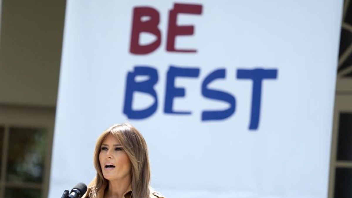 First Lady Going on Road for 'Be Best' Children's Campaign