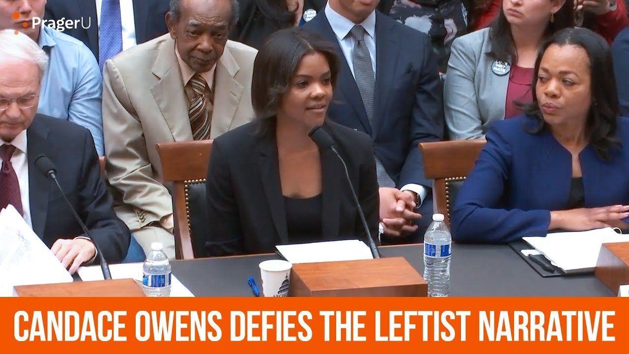 Candace Owens slams the Leftist media.