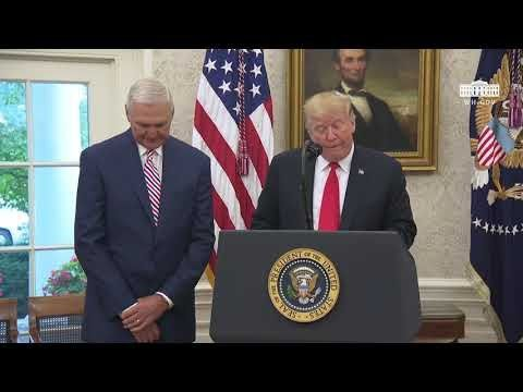 President Trump Presents the Presidential Medal of Freedom to Jerry West