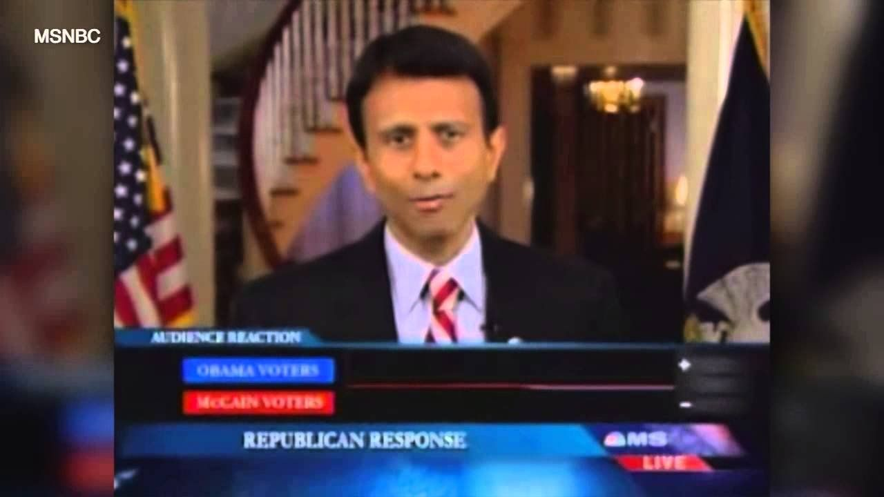 Bobby Jindal, Before and After