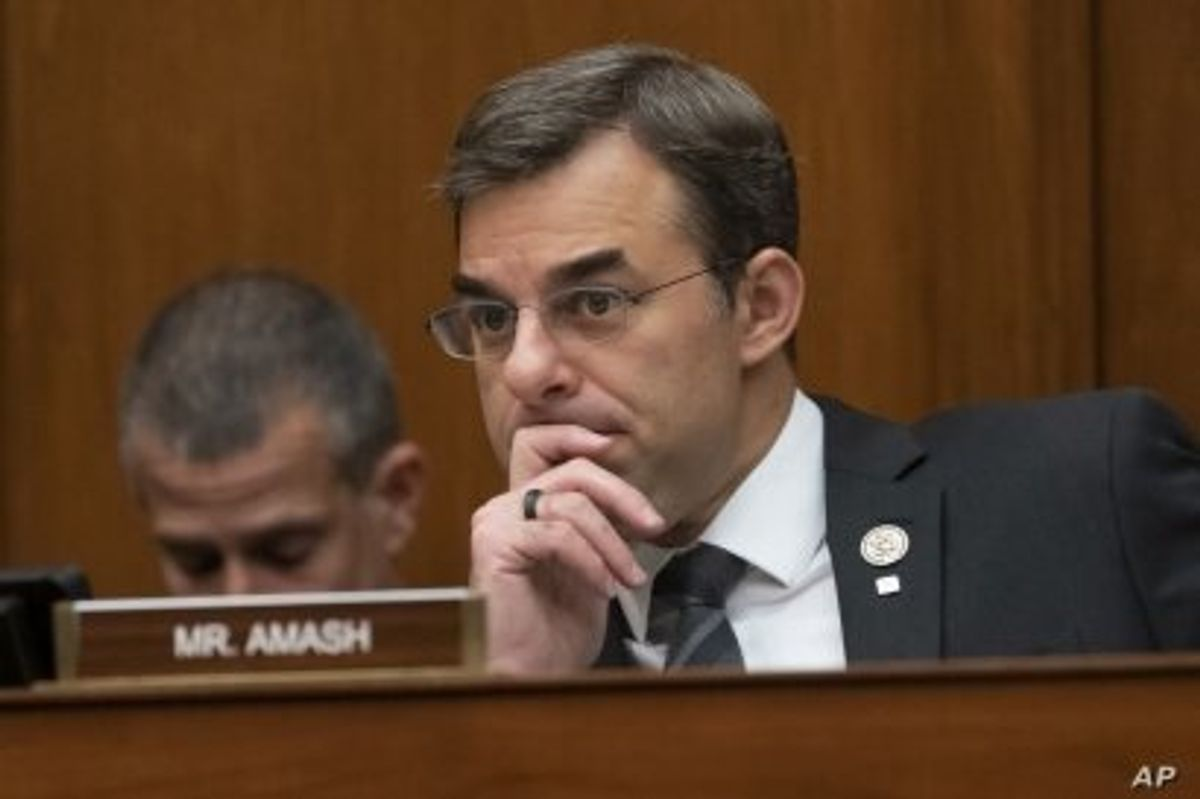After Amash Dumped Trump, His District May Do Same to Him