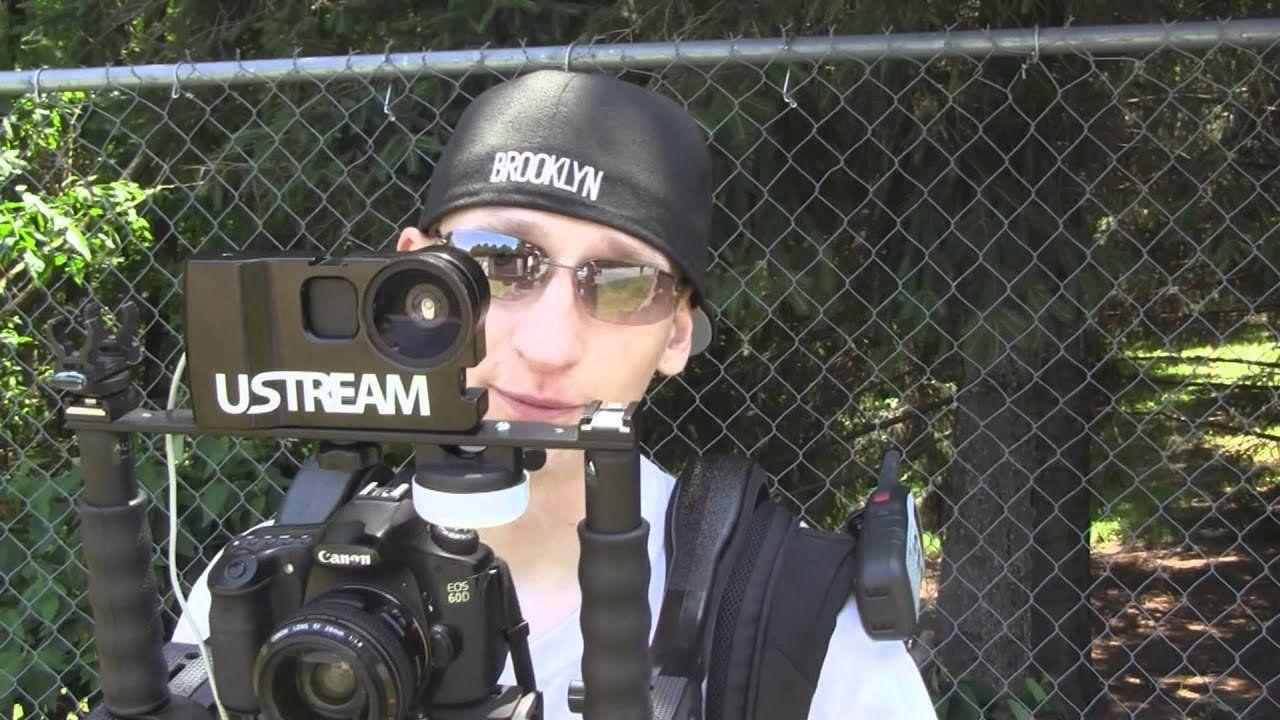 Luke Rudkowski's Livestreaming equipment at Bilderberg 2012