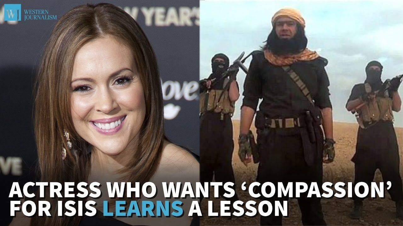 Actress Who Wants 'Compassion' For ISIS Learns A Lesson