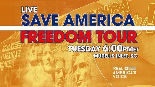 SAVE AMERICA FREEDOM TOUR  - MURRELLS SOUTH CAROLINA