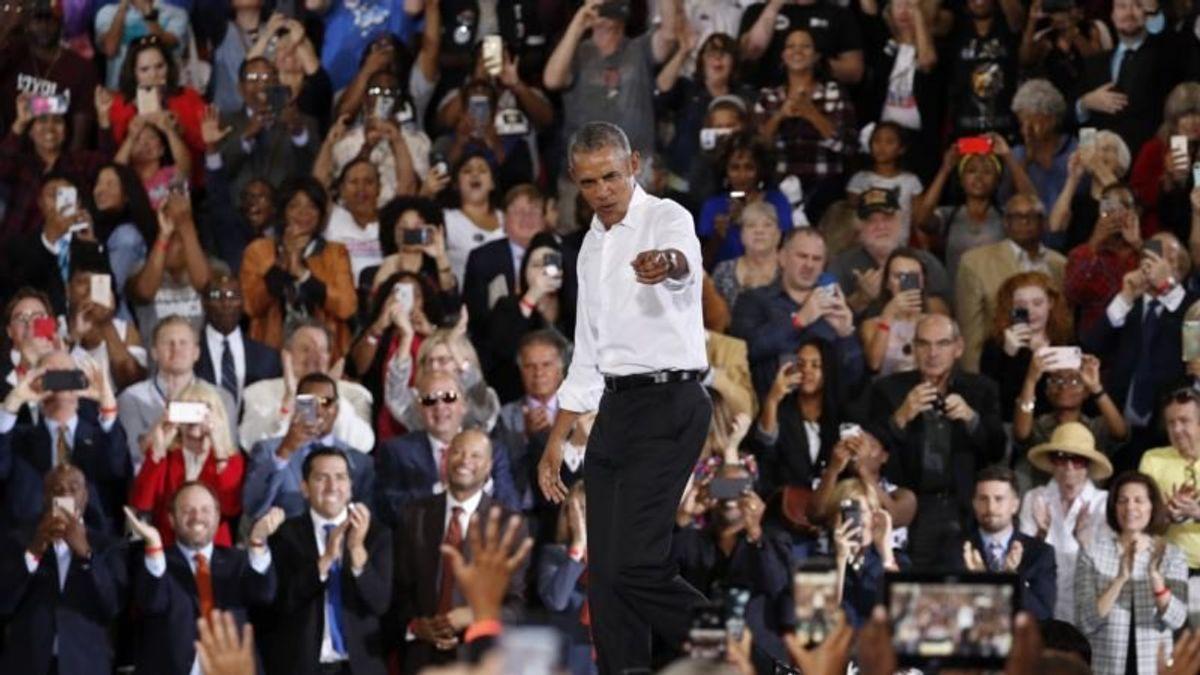 Obama Rails Against Republicans, Rallies Democrats in Nevada