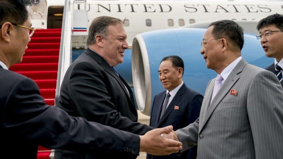 Report: North Korea's Top Envoy Arrives in Beijing
