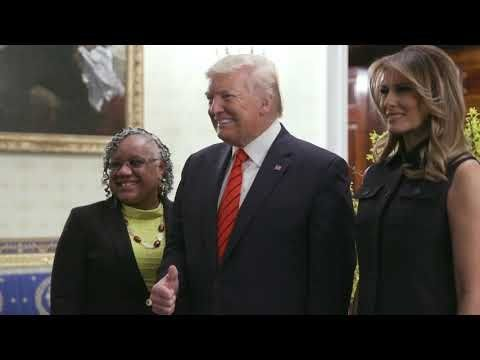 President Trump and The First Lady Speak at African American History Month Reception