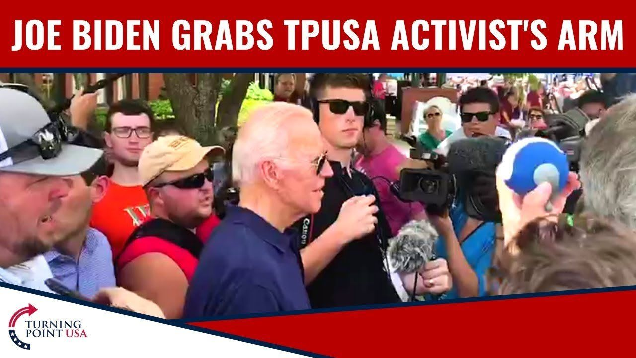 Rush Limbaugh Discusses Joe Biden Grabbing TPUSA Activist's Arm