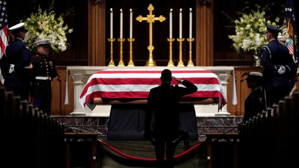 Final Eulogies Set for Former US President George HW Bush