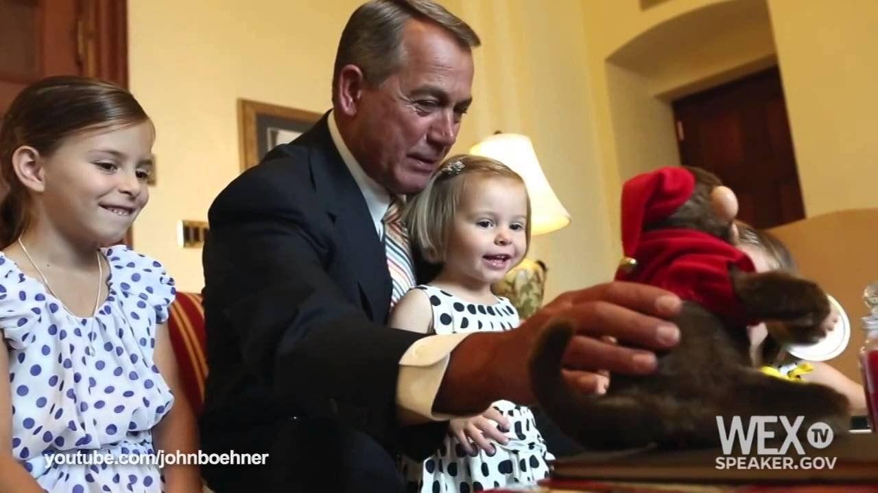 WATCH: John Boehner is the monkey in the room