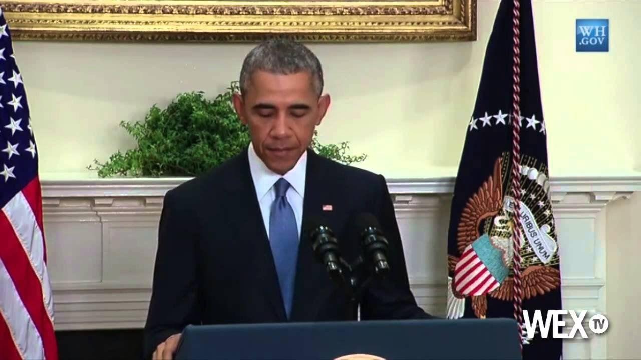Obama speaks on new hostage policy