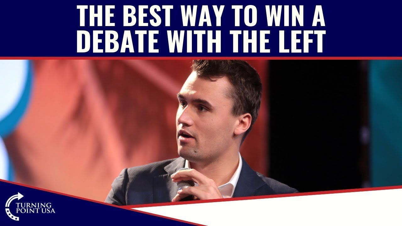The Best Way To WIN A Debate With The Left!