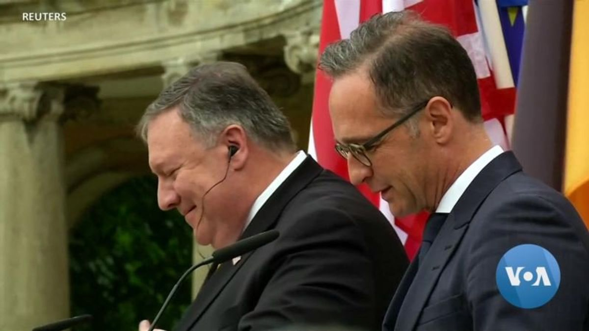 Pompeo Seeks Common Ground on Iran, Huawei in Europe