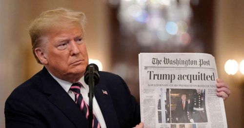 After enduring years of media antagonism, Trump seeks to disrupt industry with his own platform