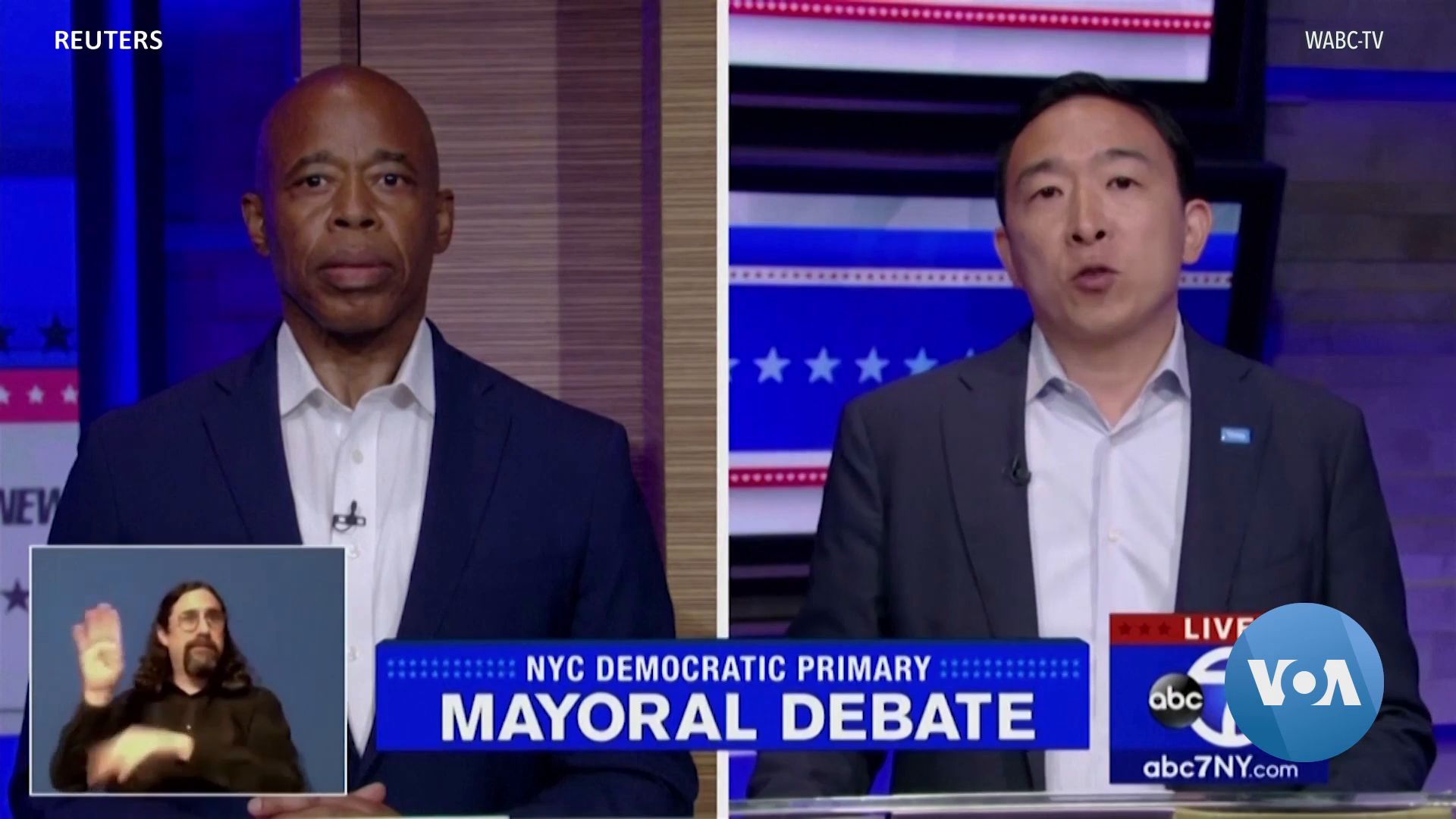 New Yorkers to Cast Votes in Mayoral Primary