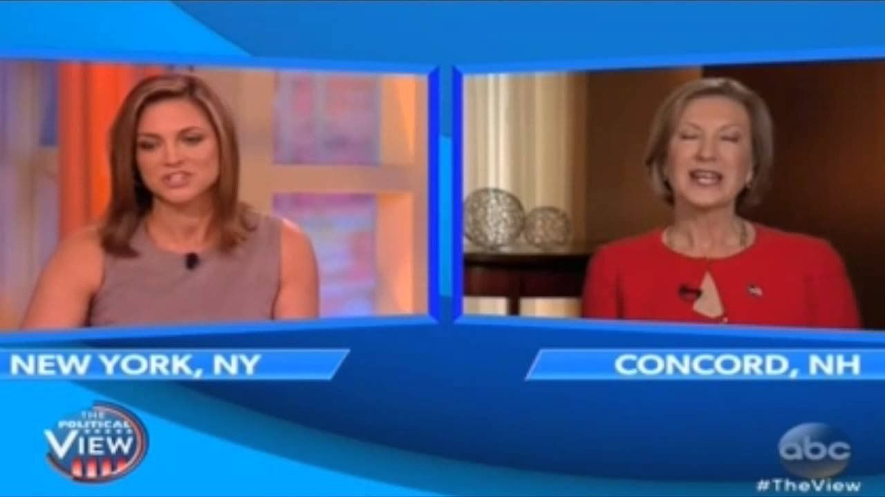 Fiorina: Conservative women are held to different standards