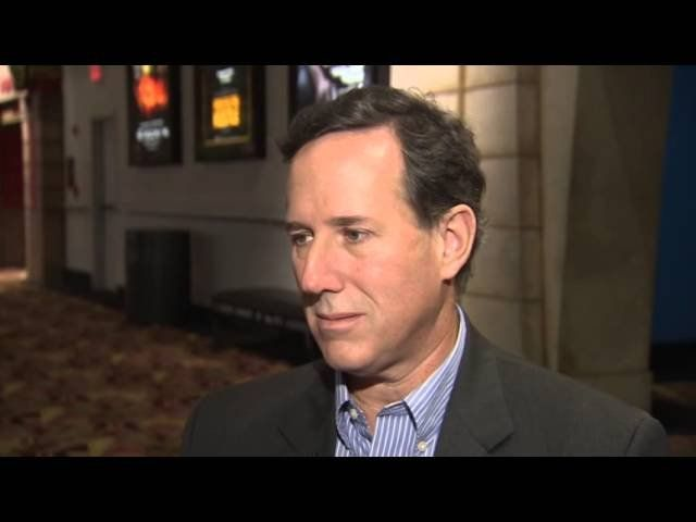 Former Sen. Rick Santorum talks politics
