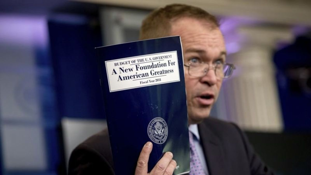President's Budget Lands Monday With a Shrug