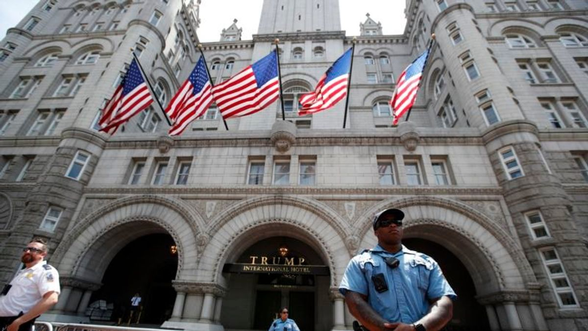 Trump's Washington Hotel Took In Nearly $41M in 2018