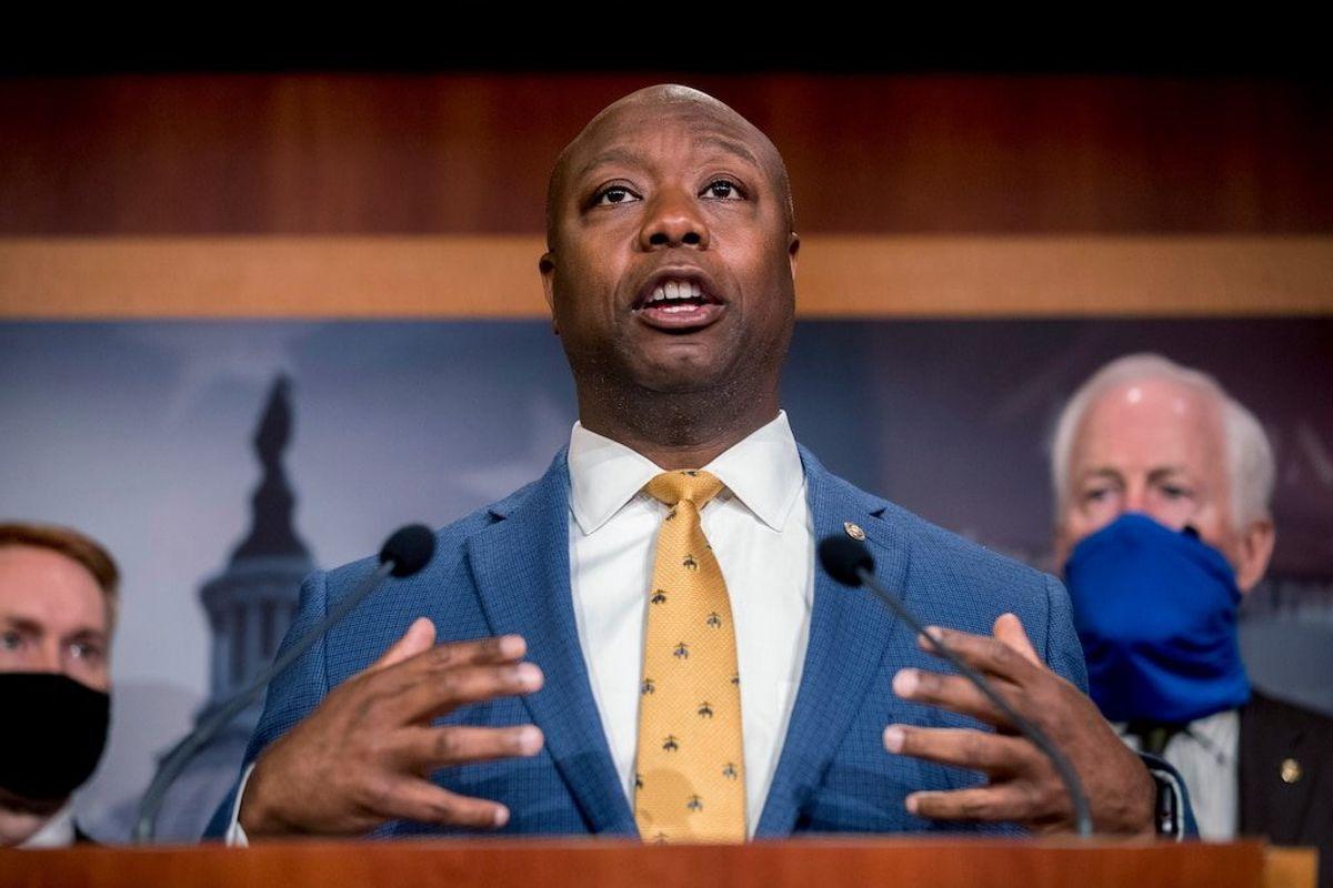 Republican Senator Scott Wants 'Honest Conversation' After Biden Speech