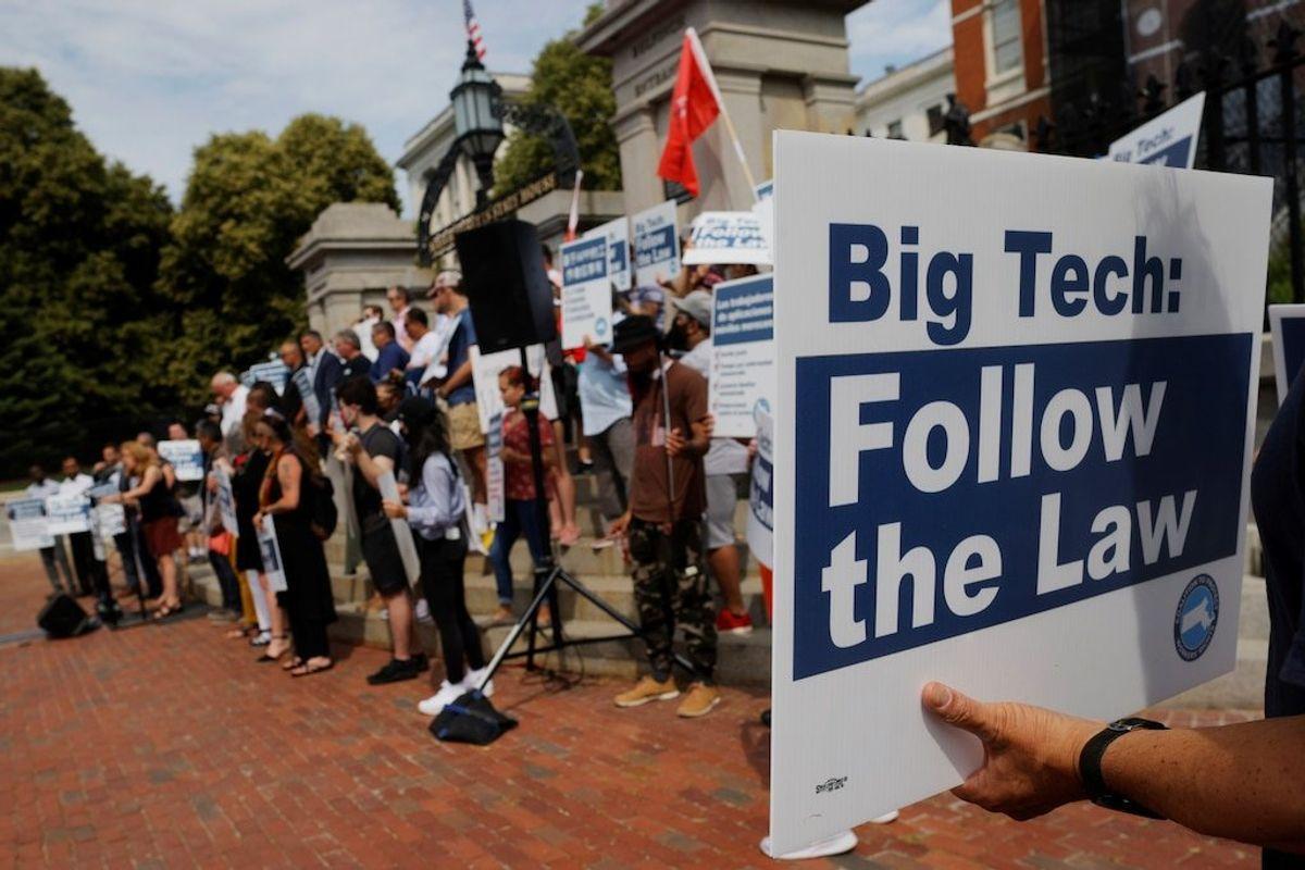 Biden Supports Work to Address Problems around Big Tech, White House Says