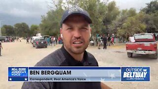 """""""It's utter destruction, what's happening down here."""" - Ben Bergquam reports from Acuña"""