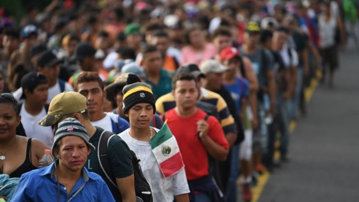 To Some the Migrant Caravan is a Political Gift
