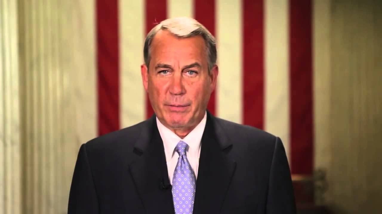 Boehner: Your priorities will be ours