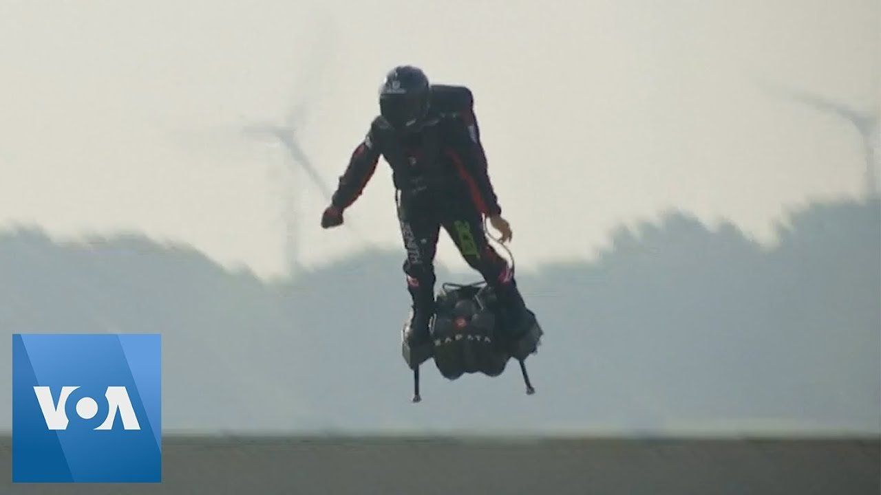 Flying Frenchman Fails to Cross English Channel