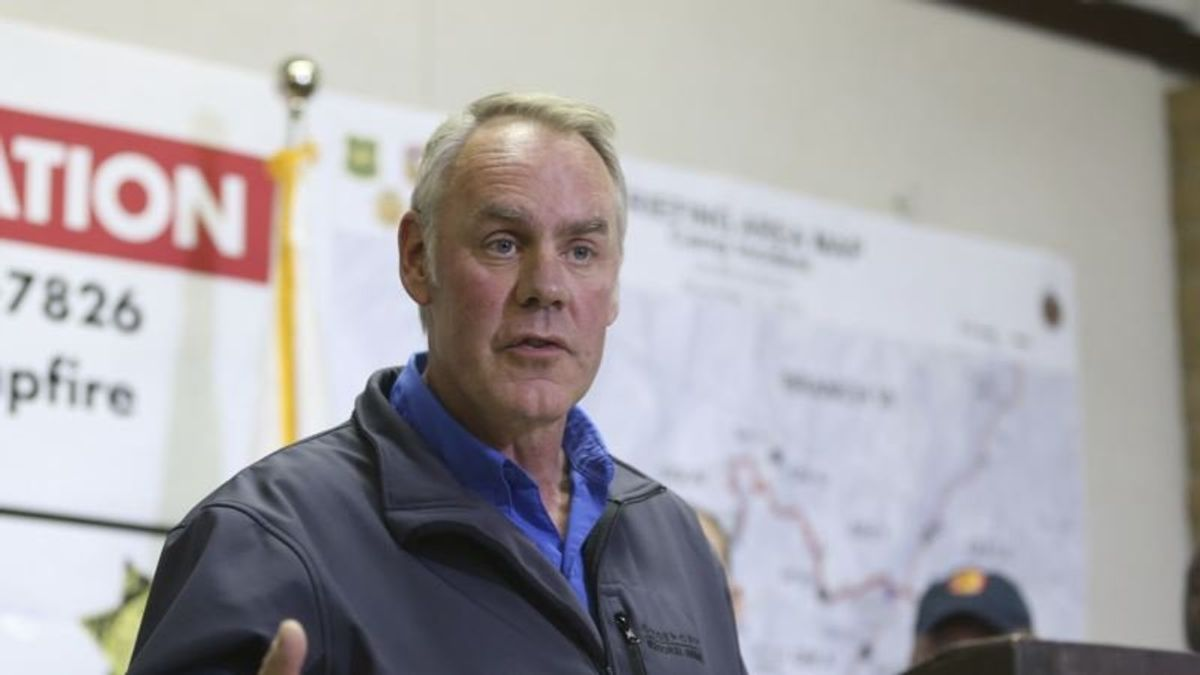 Trump Says Interior's Zinke to Step Down at End of Year