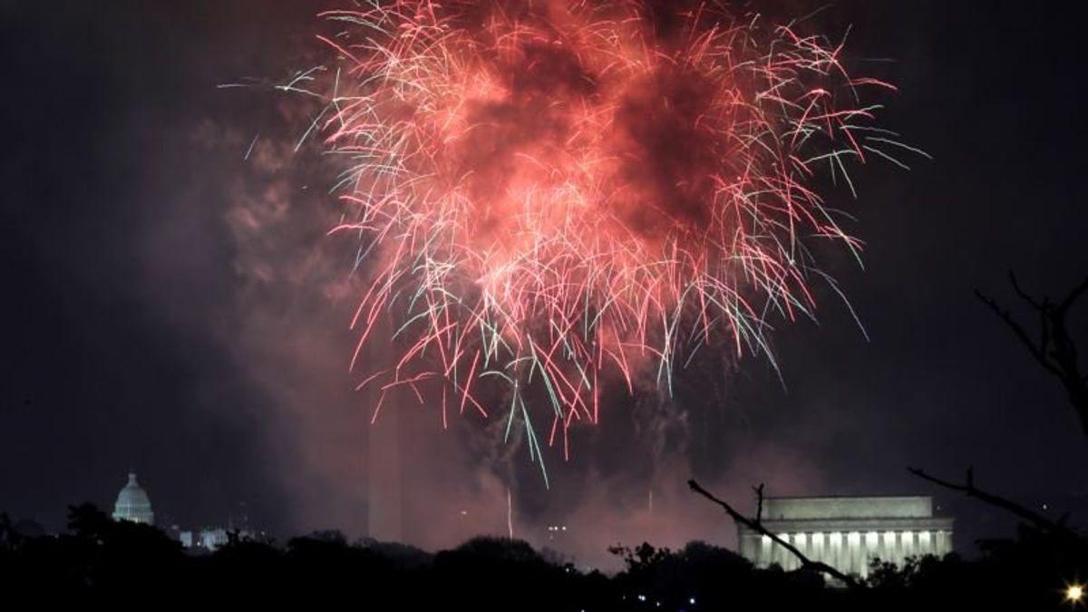 Democrat Cautions About Trump's July 4th Extravaganza