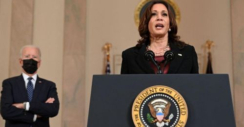 VP Harris tipped the scale, voting to advance Biden nominee after senators arrived at 50-50 deadlock