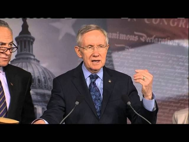 Harry Reid: Open the government, let us pay our bills