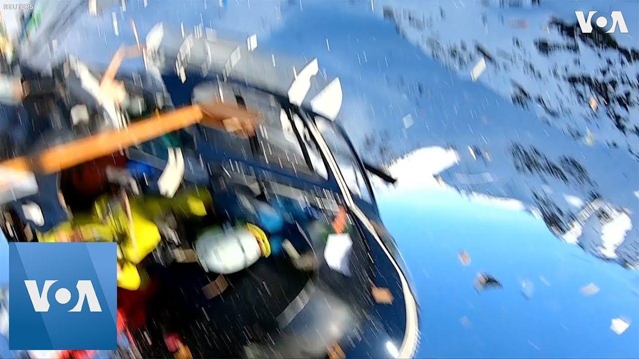 GoPro Videos of Fatal Helicopter Crash Over Italian Alps Released by Police
