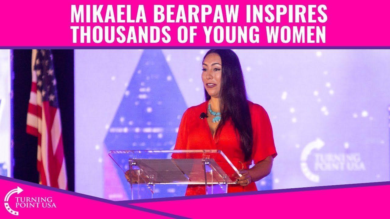 Mikaela Bearpaw INSPIRES Young Women!