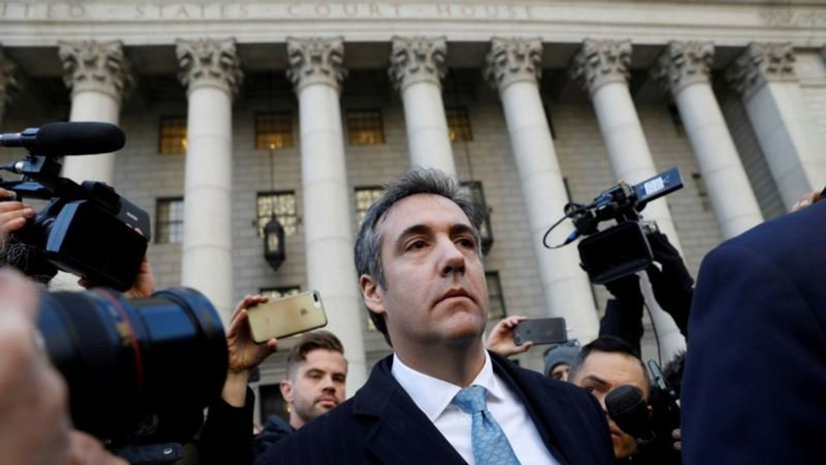 Former Trump Lawyer Cohen to Testify Publicly Before Congress