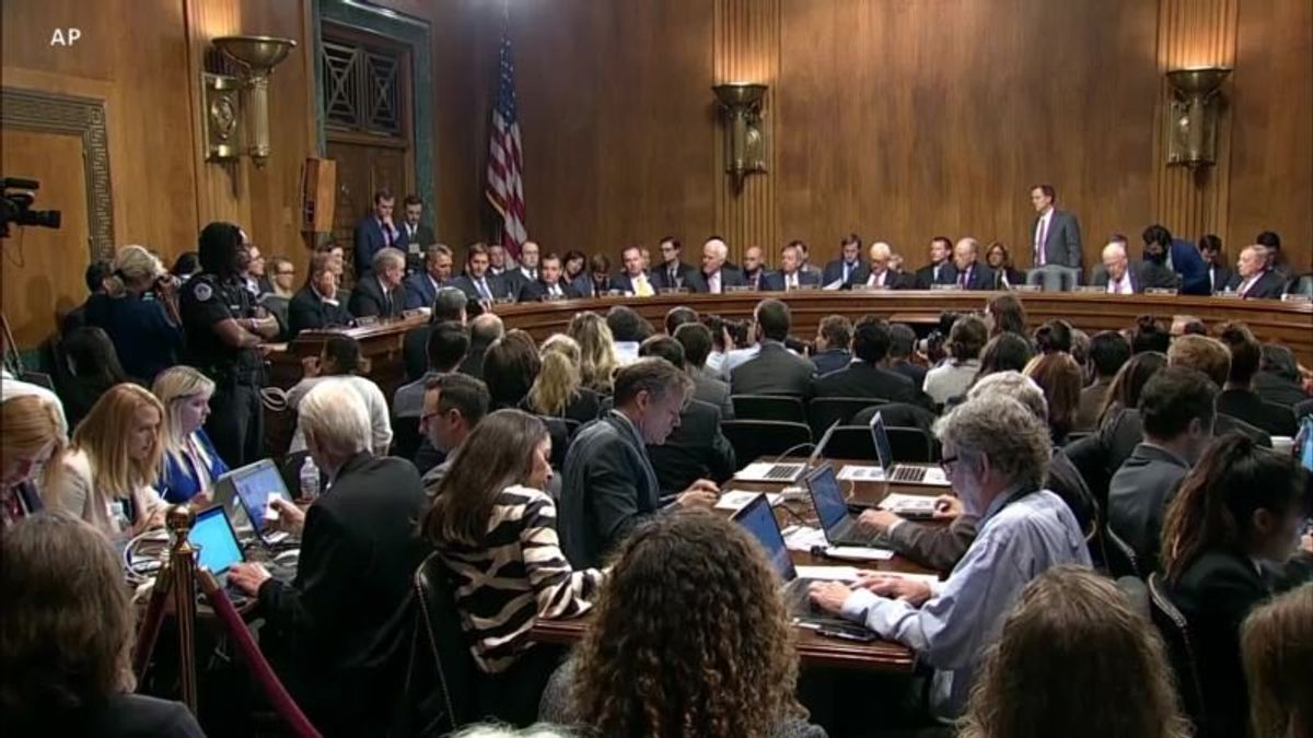Kavanaugh Controversy Deepens Division Between Parties