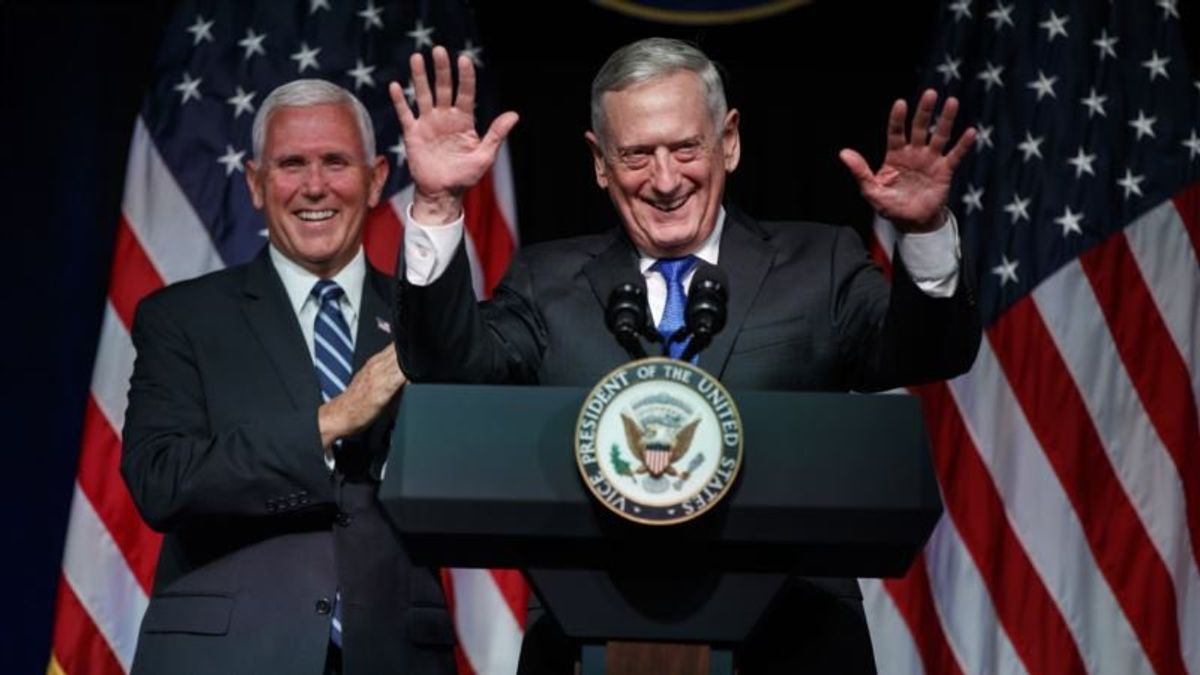 Mattis: 'I Was Not Against Setting Up a Space Force'