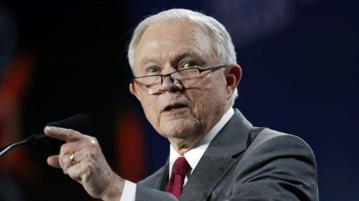 Trump Blames Attorney General, Fired FBI Agent for Russia Probe