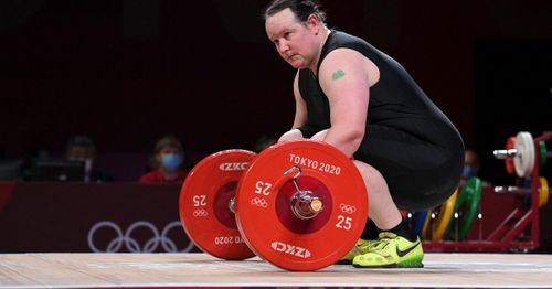 Transgender weightlifter Hubbard knocked out of Olympic competition after failing to complete lifts