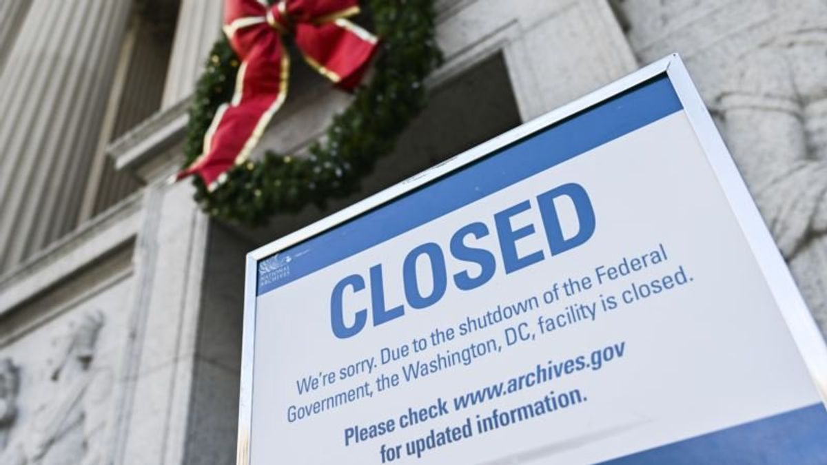 No End in Sight for Partial US Government Shutdown