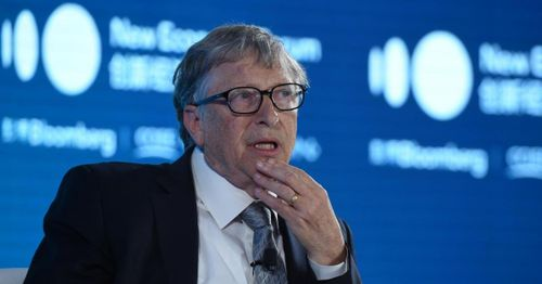 """""""Those meetings were a mistake,"""" says a flustered Bill Gates during grilling about Jeffrey Epstein"""