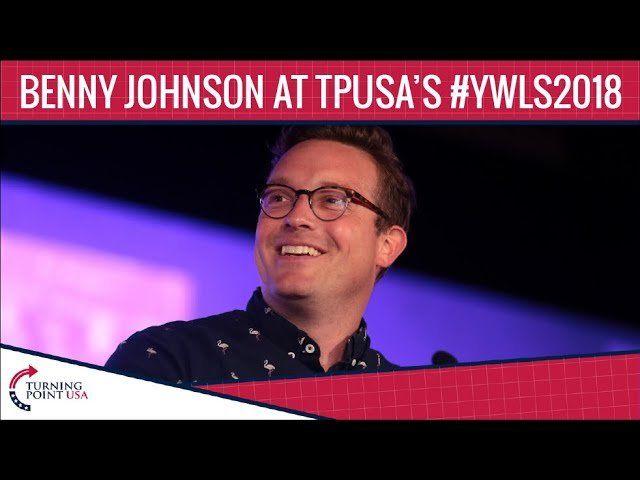 Benny Johnson At TPUSA's Young Women's Leadership Summit 2018