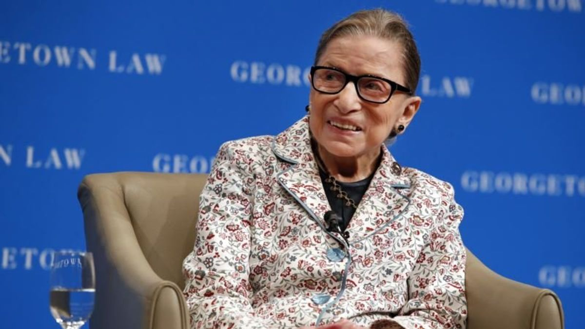 Ginsburg Voices Support for #MeToo on Eve of Kavanaugh Hearing