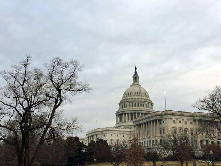 The U.S. Capitol Hill building in Washington, DC. (Photo by Diaa Bekheet)