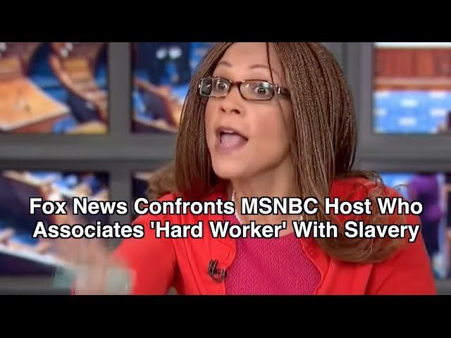Fox News Confronts MSNBC Host Who Associates 'Hard Worker' With Racism
