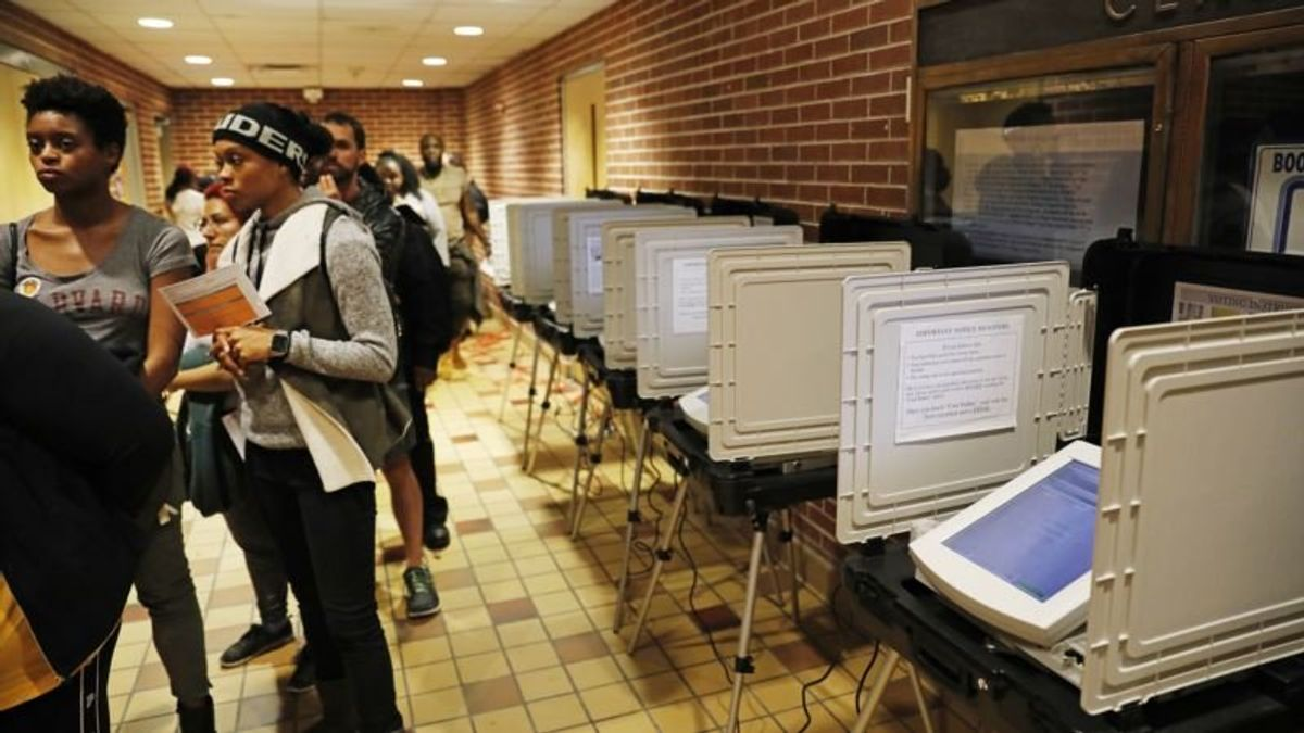 Glitches Mar Voting, Frustrate Voters in Georgia, Other States