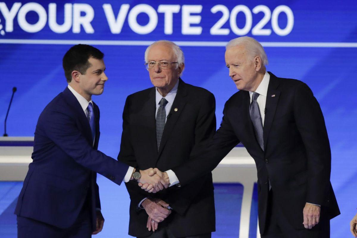 Buttigieg, Sanders Battle in Generational Clash at Democratic Debate