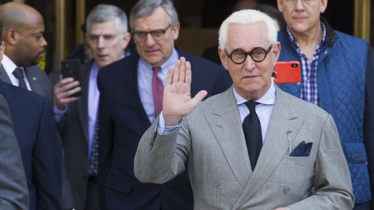 November Trial Date Set for Trump Confidant Roger Stone