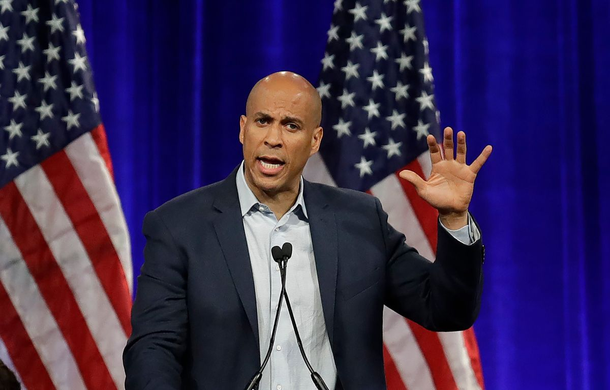 Cory Booker Says he Hit his $1.7M Campaign Fundraising Goal